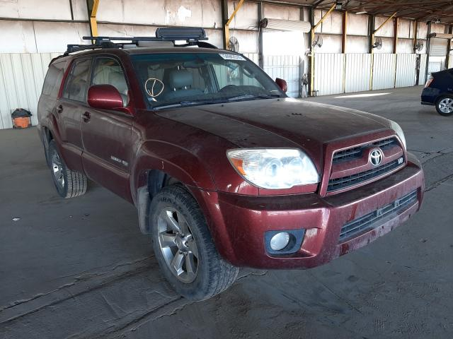Toyota 4runner LI salvage cars for sale: 2006 Toyota 4runner LI