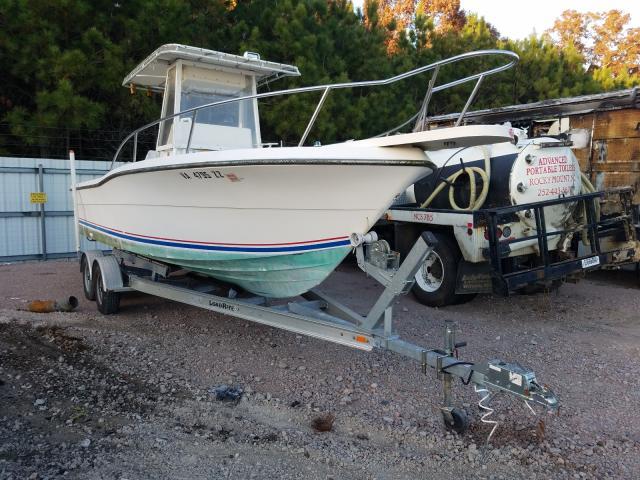 Salvage 1990 Pursuit BOAT for sale
