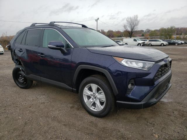 Salvage cars for sale from Copart Baltimore, MD: 2021 Toyota Rav4 XLE