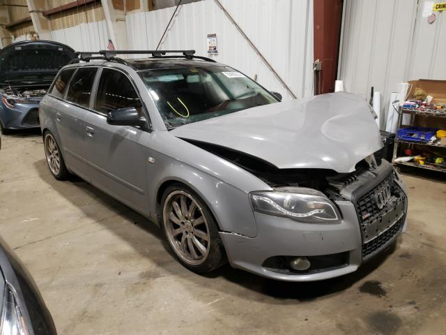 Salvage cars for sale from Copart Anchorage, AK: 2006 Audi A4 2.0T AV