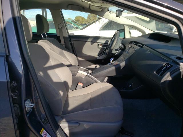 пригнать из сша 2012 Toyota Prius Plug 1.8L JTDKN3DP7C3028318