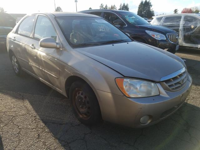 KIA Spectra salvage cars for sale: 2004 KIA Spectra