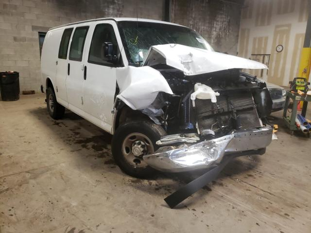 Salvage cars for sale from Copart Chalfont, PA: 2018 Chevrolet Express G2