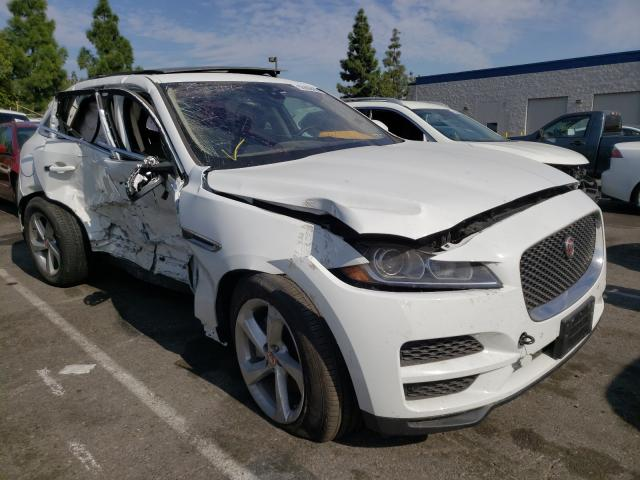 Salvage cars for sale from Copart Rancho Cucamonga, CA: 2020 Jaguar F-PACE Premium