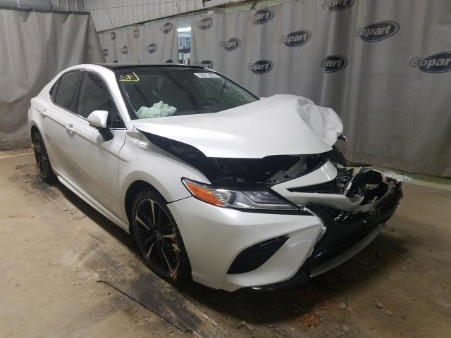 Salvage cars for sale from Copart Tifton, GA: 2020 Toyota Camry XSE