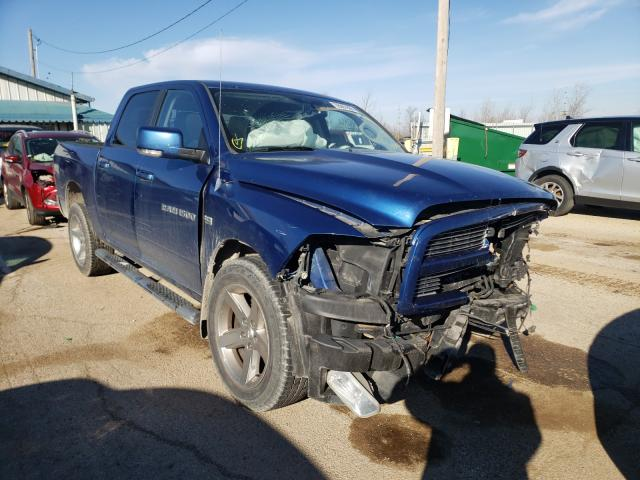 Salvage cars for sale from Copart Pekin, IL: 2011 Dodge RAM 1500