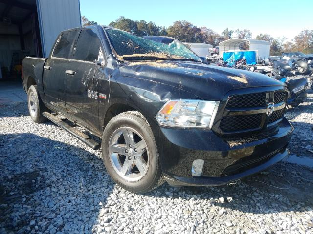 Salvage cars for sale from Copart Byron, GA: 2017 Dodge RAM 1500 ST