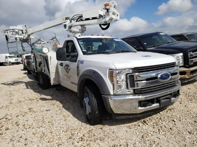 Salvage cars for sale from Copart San Antonio, TX: 2019 Ford F550 Super