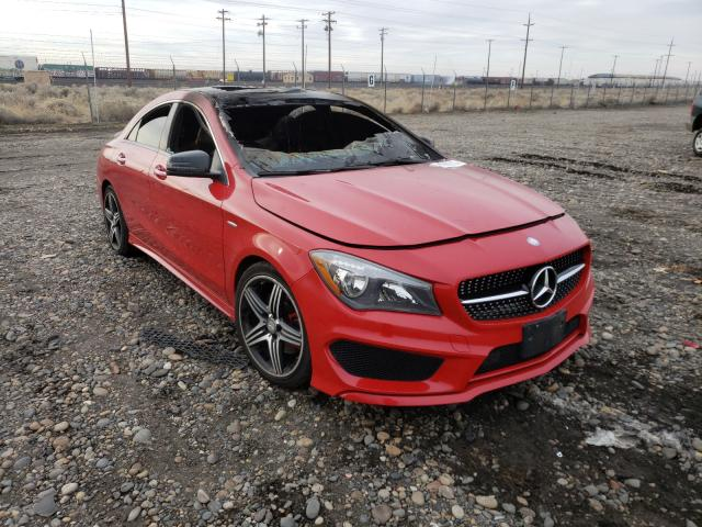 Salvage cars for sale from Copart Pasco, WA: 2015 Mercedes-Benz CLA 250 4M