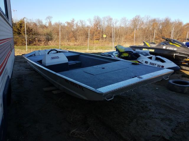 Salvage cars for sale from Copart Columbia, MO: 2013 Alumaweld Boat