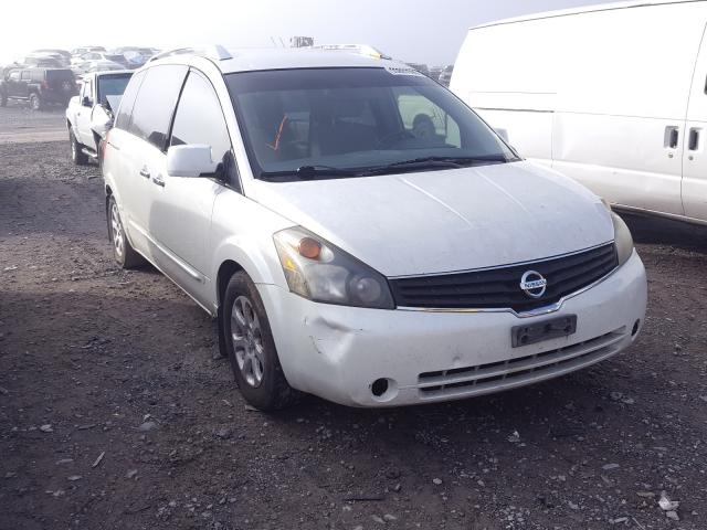 Salvage cars for sale from Copart Madisonville, TN: 2007 Nissan Quest S