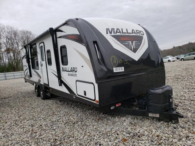 Heartland Mallard salvage cars for sale: 2019 Heartland Mallard