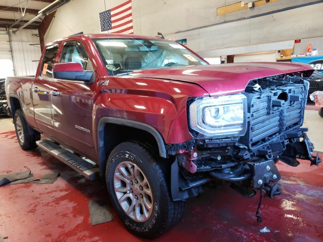Salvage cars for sale from Copart Angola, NY: 2018 GMC Sierra K15