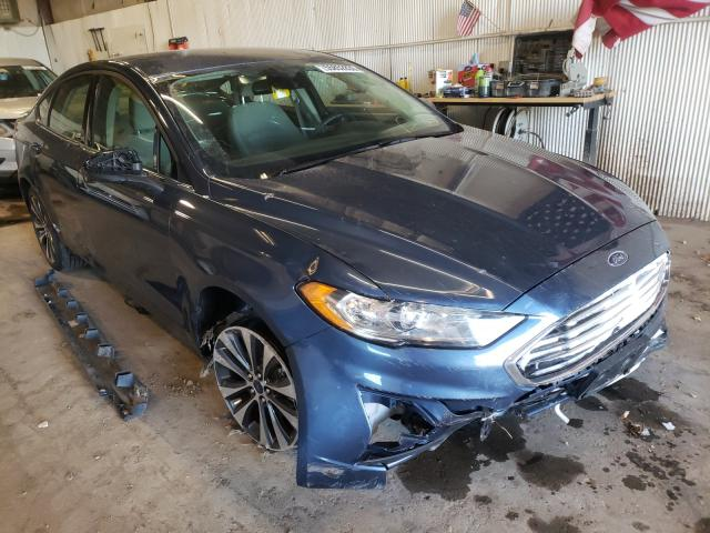 Salvage cars for sale from Copart Casper, WY: 2019 Ford Fusion SE