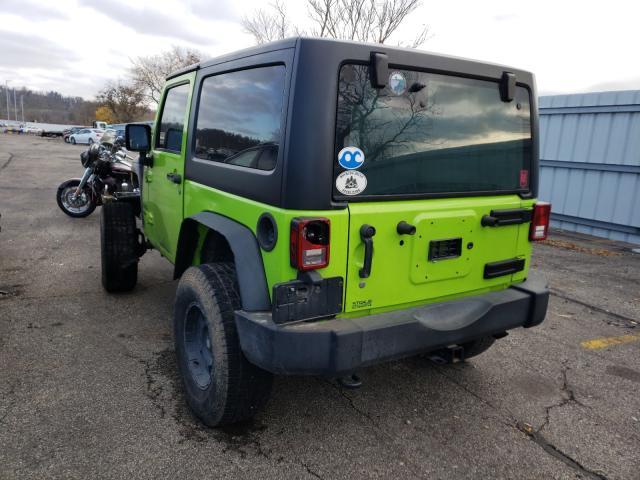 купить 2013 Jeep Wrangler S 3.6L 1C4AJWAG6DL519736