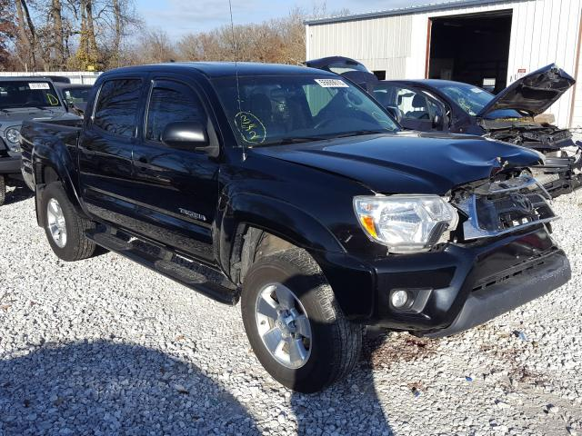 Salvage cars for sale from Copart Rogersville, MO: 2014 Toyota Tacoma DOU