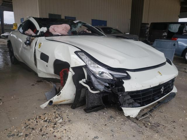 Salvage cars for sale from Copart Homestead, FL: 2020 Ferrari GTC 4 Luss