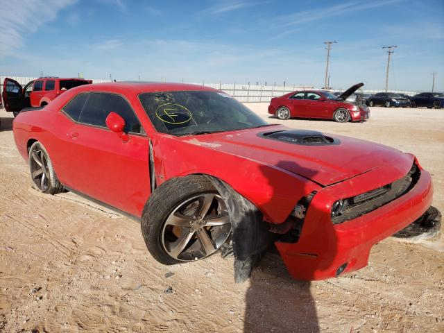 Salvage cars for sale from Copart Andrews, TX: 2016 Dodge Challenger