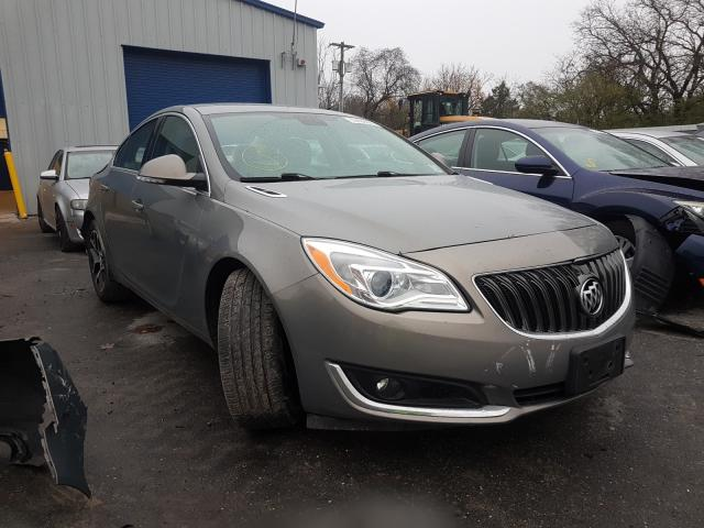 Buick Regal Sport salvage cars for sale: 2017 Buick Regal Sport