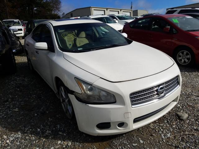 Nissan Maxima S salvage cars for sale: 2010 Nissan Maxima S