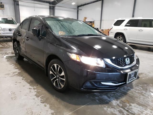 Vehiculos salvage en venta de Copart Lumberton, NC: 2014 Honda Civic EX