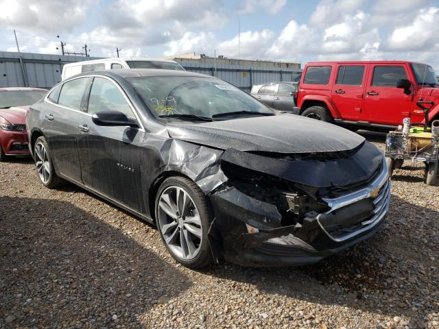 Salvage cars for sale from Copart Mercedes, TX: 2020 Chevrolet Malibu PRE