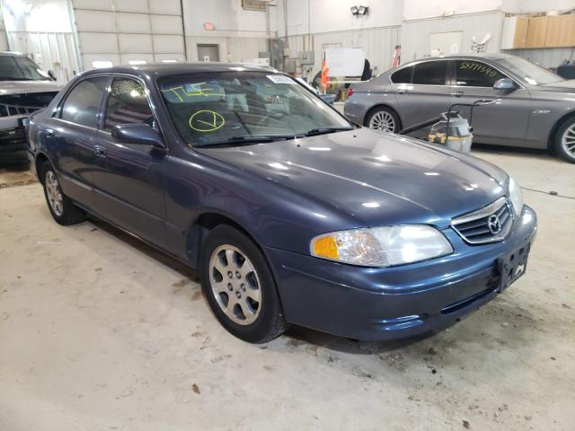 Salvage cars for sale from Copart Columbia, MO: 2002 Mazda 626