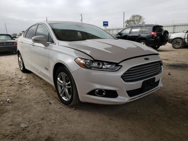 Salvage cars for sale from Copart Temple, TX: 2016 Ford Fusion Titanium