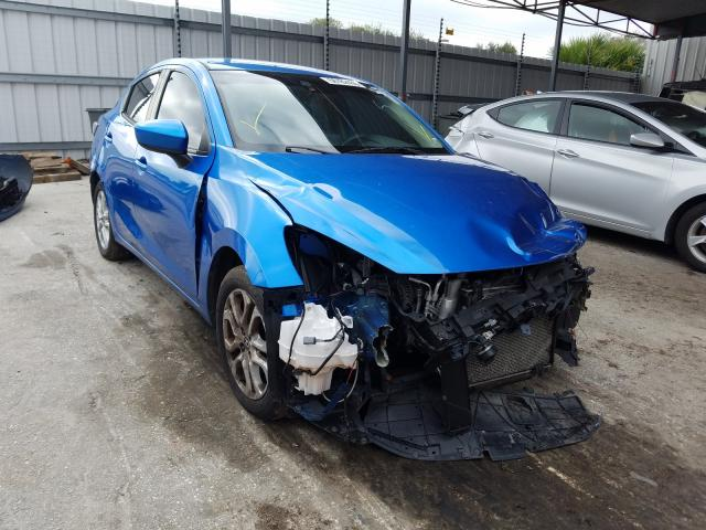 Salvage cars for sale from Copart Orlando, FL: 2017 Toyota Yaris IA