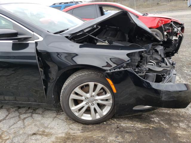 1C3CCCAB3FN580317 2015 Chrysler 200 Limite 2.4L