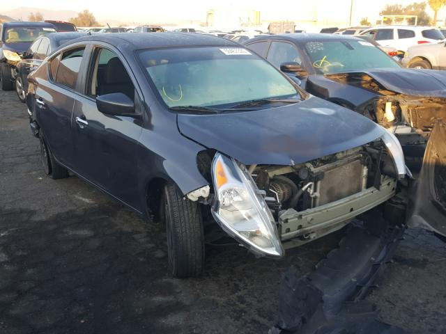 Salvage cars for sale from Copart Colton, CA: 2015 Nissan Versa
