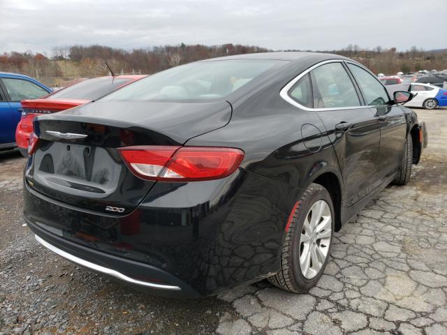 цена в сша 2015 Chrysler 200 Limite 2.4L 1C3CCCAB3FN580317