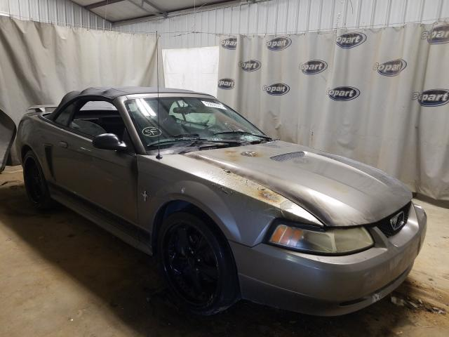 Salvage cars for sale from Copart Tifton, GA: 2002 Ford Mustang