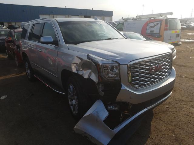 Salvage cars for sale from Copart Woodhaven, MI: 2018 GMC Yukon Dena