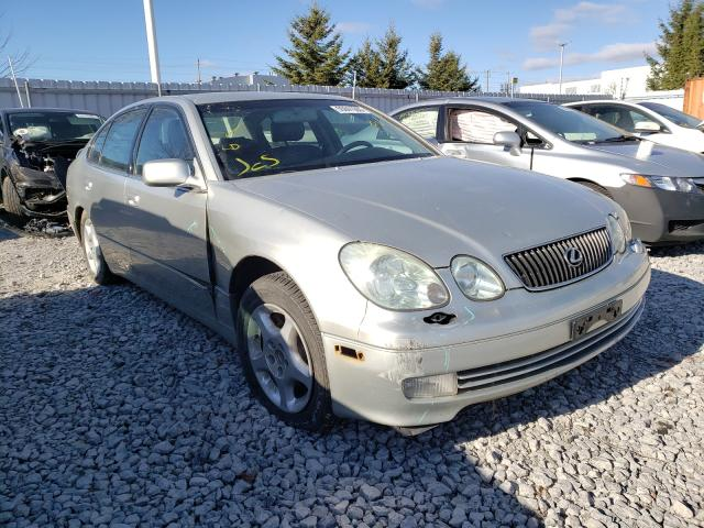 Salvage cars for sale from Copart Courtice, ON: 2002 Lexus GS 300