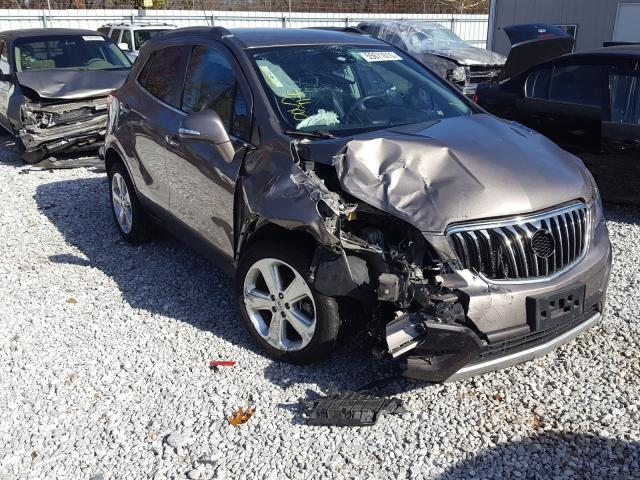 Salvage cars for sale from Copart Rogersville, MO: 2015 Buick Encore