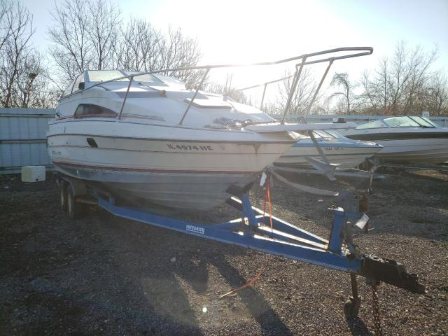 Salvage cars for sale from Copart Cudahy, WI: 1990 Bayliner 25FT Boat