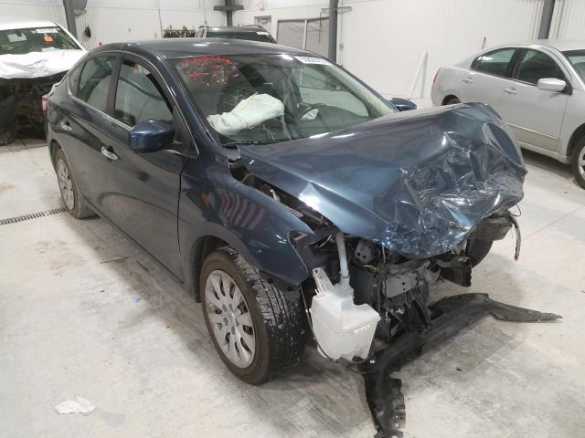 Salvage cars for sale from Copart Greenwood, NE: 2014 Nissan Sentra S