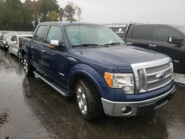 Salvage cars for sale from Copart Dunn, NC: 2011 Ford F150 Super