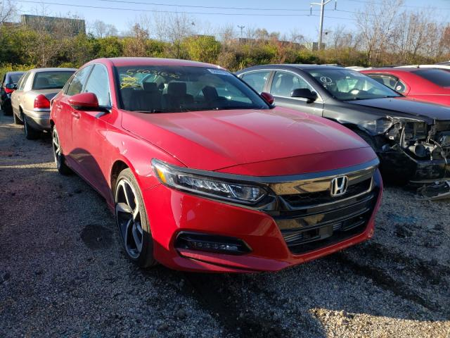 Salvage cars for sale from Copart Columbus, OH: 2020 Honda Accord Sport