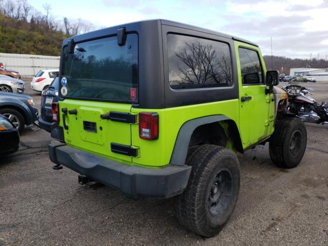 цена в сша 2013 Jeep Wrangler S 3.6L 1C4AJWAG6DL519736