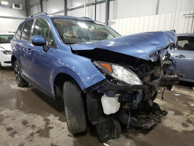 Salvage cars for sale from Copart Ham Lake, MN: 2017 Subaru Forester 2