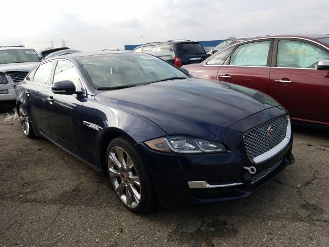 Salvage cars for sale from Copart Woodhaven, MI: 2019 Jaguar XJL Portfo