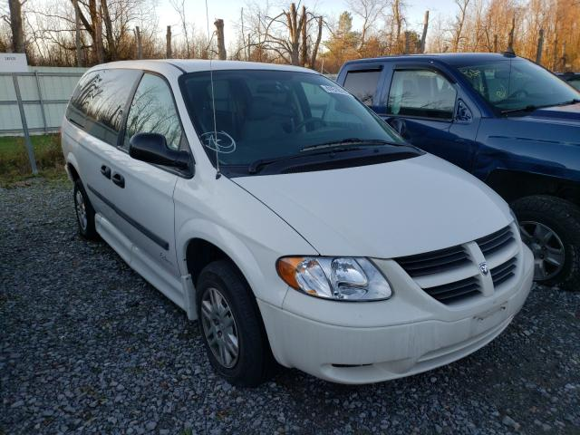 Salvage cars for sale from Copart Leroy, NY: 2007 Dodge Grand Caravan