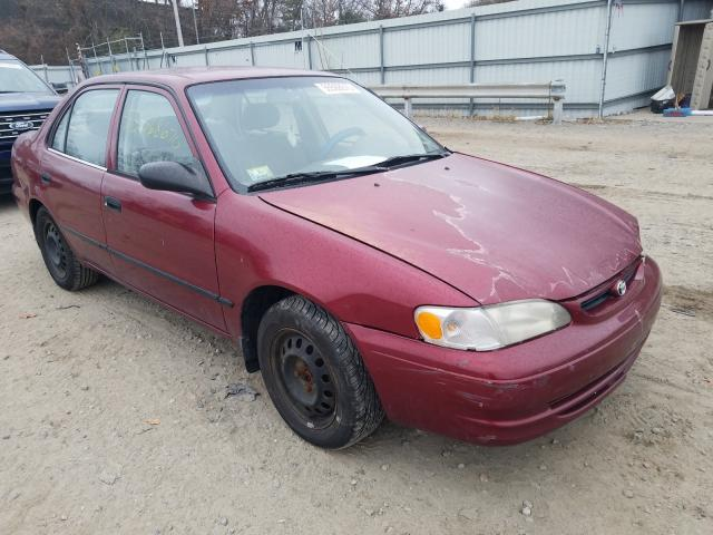 Toyota Corolla salvage cars for sale: 2000 Toyota Corolla