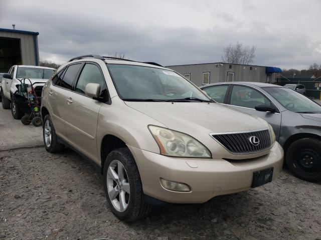 Salvage cars for sale from Copart Duryea, PA: 2004 Lexus RX 330