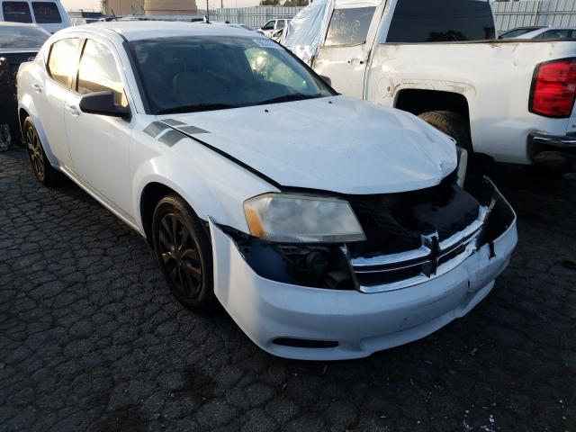 Salvage cars for sale from Copart Colton, CA: 2012 Dodge Avenger SE