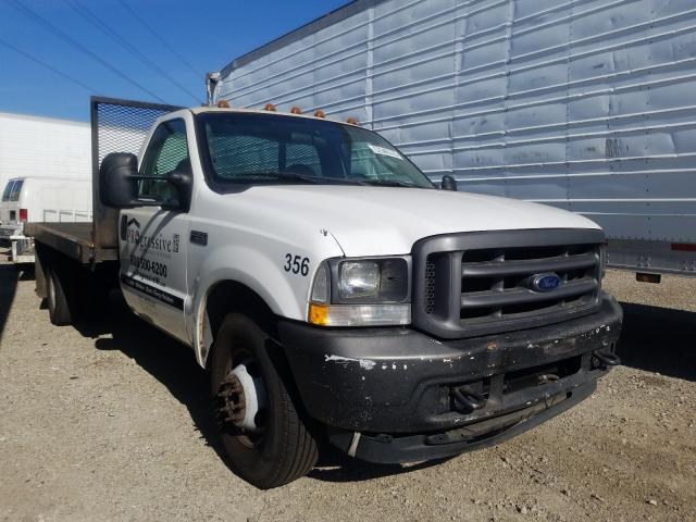 Salvage cars for sale from Copart Rancho Cucamonga, CA: 2004 Ford F350 Super