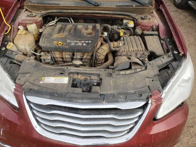 1C3CCBBB3DN732876 2013 Chrysler 200 Tourin 2.4L