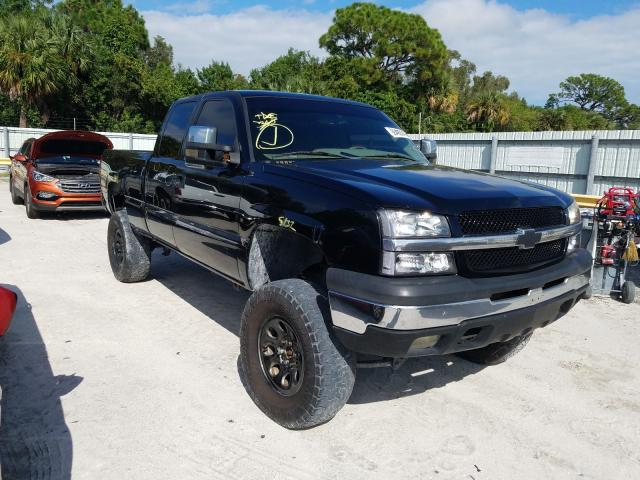 Salvage cars for sale from Copart Fort Pierce, FL: 2003 Chevrolet Silverado